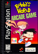 Sony Playstation - Bobby's World Arcade Game (1995) box art