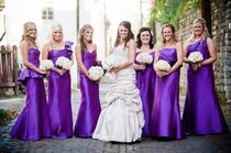 Adriana and her bridesmaids