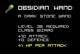 Obsidian Wand