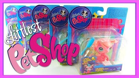 LPS - Littlest Pet Shop Toy Unboxing - Magic Motion Figures