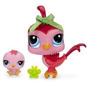 Littlest-Pet-Shop-Bird-and-Baby-Bird-Figure-Set-0
