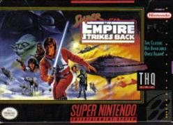Super Star Wars - The Empire Strikes Back Coverart