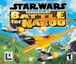 Star Wars Battle for Naboo Nintendo64