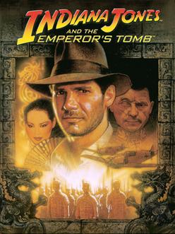 Indiana Jones and the Emperor's Tomb Coverart