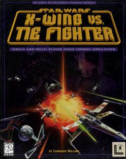 Star Wars X-Wing vs. Tie Fighter box art