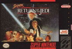 Super Return of the Jedi box art