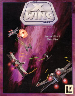 X-Wing - Space Combat Simulator (box cover)