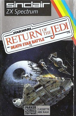 Star Wars - Return of the Jedi - Death Star Battle cover