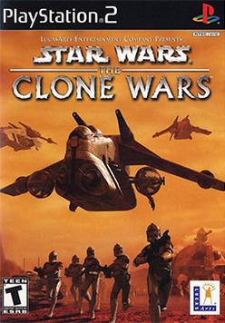 Star Wars - The Clone Wars Coverart