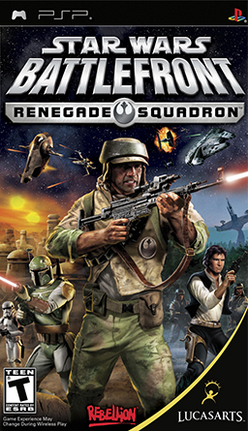 Star Wars Battlefront - Renegade Squadron Coverart