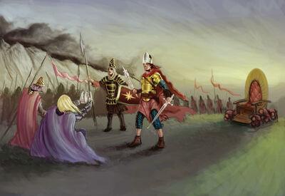 Sauron Corupts the Harad