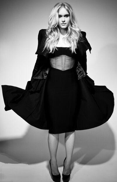 Leven Martell Large Black Dress