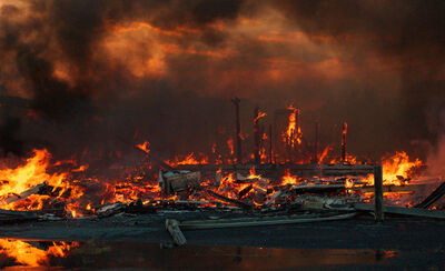 Arnor Burning