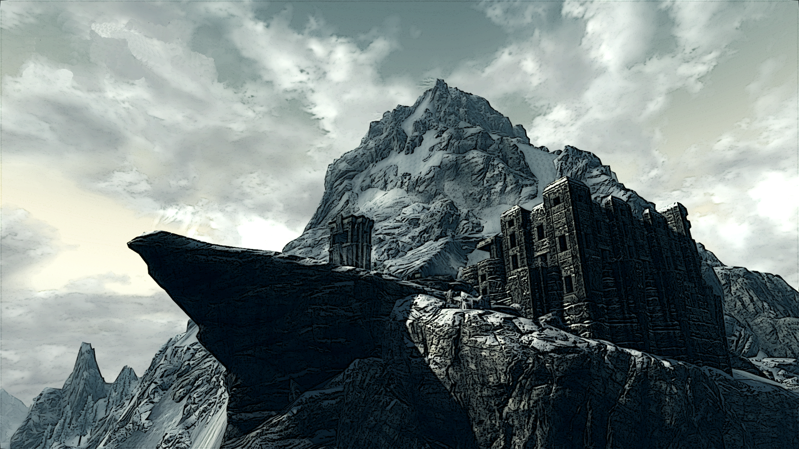 how to get to high hrothgar map