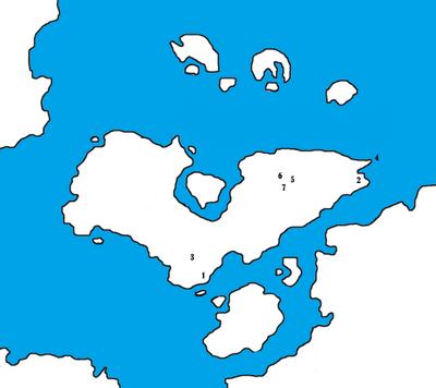 Radin Island - Battle - Maps