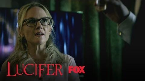 Linda Tracks Down Lucifer At LUX Season 2 Ep