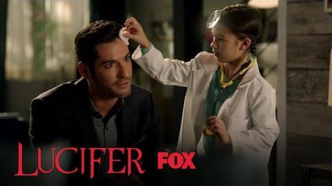 Trixie Treats Lucifer's Wound Season 2 Ep. 18 LUCIFER