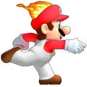 Super Fiery Mario