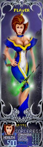 Gauntlet Dark Legacy - Blue Sorceress (Player 2)