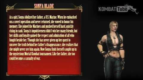 Mortal Kombat (2011) - Biographies - Sonya Blade