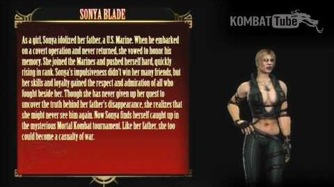 Mortal Kombat (2011) - Biographies - Sonya Blade