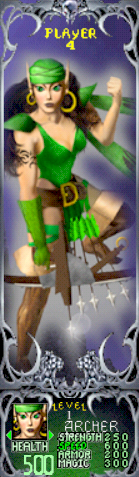 File:Gauntlet Dark Legacy - Green Archer (Player 4).png