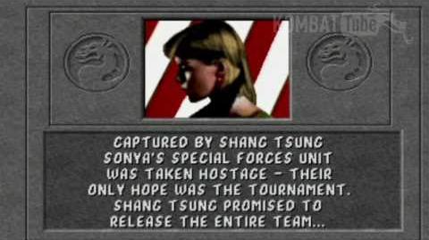 Mortal Kombat (1992) - Endings - Sonya Blade