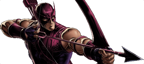 File:Marvel- Avengers Alliance - Dialogue Artwork - Classic Hawkeye.png