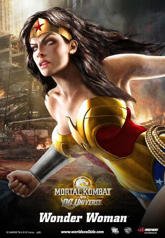 File:Mortal Kombat vs. DC Universe - Posters - Detective Comics Characters - Wonder Woman.jpg