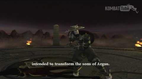 Mortal Kombat Armageddon - Endings - Raiden