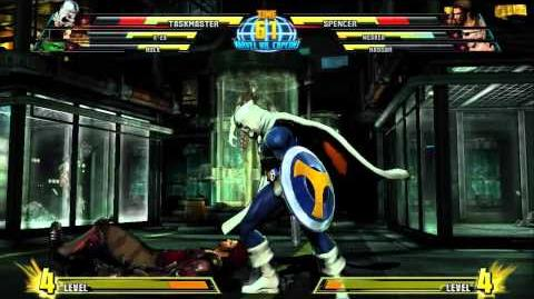Marvel vs. Capcom 3 - Taskmaster