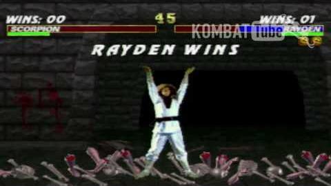 Mortal Kombat 3 - Brutalities - Rayden (Mortal Kombat)
