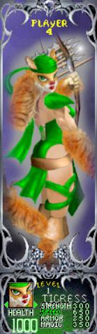 File:Gauntlet Dark Legacy - Green Tigress (Player 4).PNG