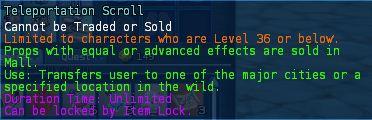 Level 11 5teleportation scrolls pics - Copy