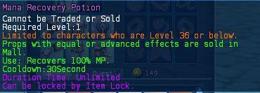 Level 10 5mana recovery potions pics - Copy