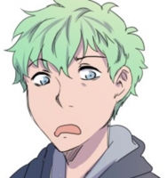 Mint-Haired Boy