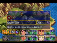 Anger Dice Menu