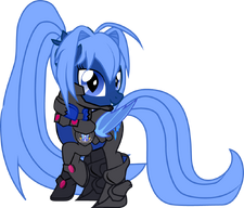 Lunar Misty - Light Armor
