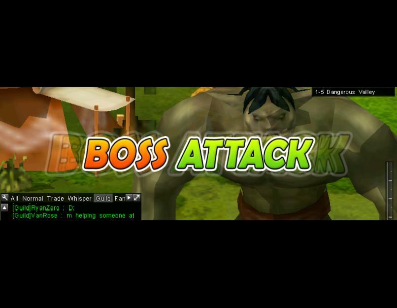 Boss Attack (1-5h)