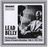 Lead Belly - Leadbelly Arc & Library of Congress Recordings Vol. 4 (1935-1938)