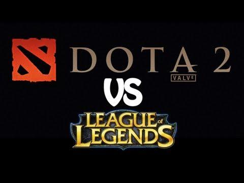 Dota2 vs LoL