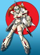Macross Girl YF-19