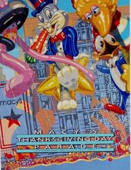 Macy's Parade 1989 Poster
