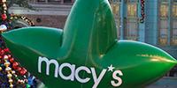 Macy's Green Stars