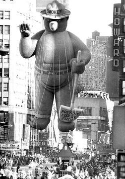 Gal balloon 1969 smokey