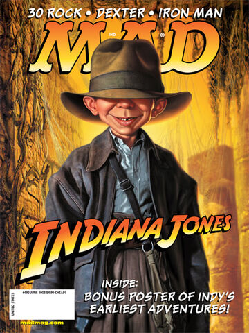 File:MAD Magazine Issue 490.jpg