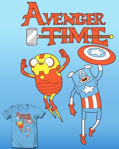 File:Avenger Time T-Shirt (Not really MAD's parody).jpg