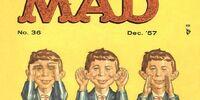 MAD Magazine Issue 36
