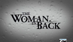 The Woman In BackTitleScreen