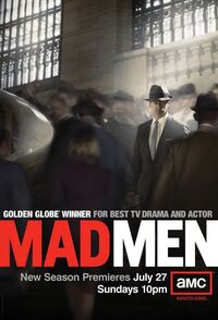 Mad men season 2 poster amc